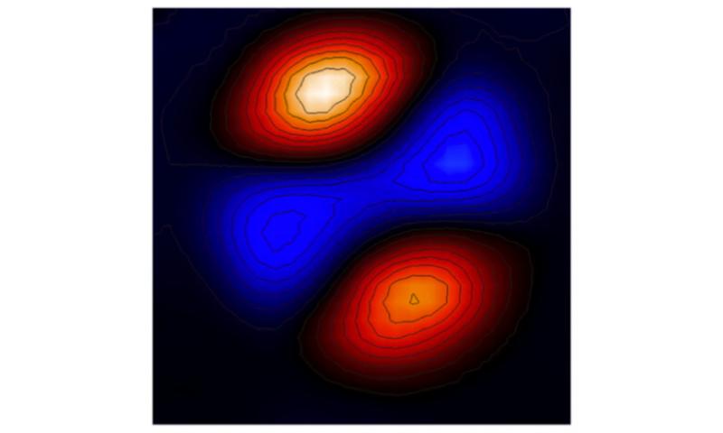 Nanomechanical resonator self-assembled from nanoparticles