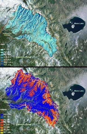 NASA opens new era in measuring western US snowpack