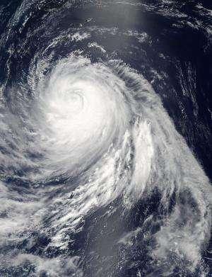 NASA sees Typhoon Soulik's eye closed for 'renovations'