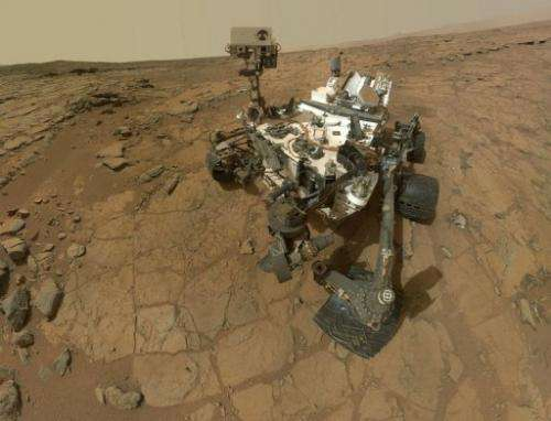 NASA's Mars rover Curiosity marks the 177th Martian day, or sol, of Curiosity's work on Mars on February 3, 2013