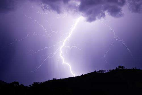 New evidence on lightning strikes