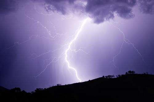 New evidence on lightning strikes