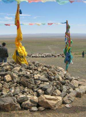 Overgrazing turning parts of Mongolian Steppe into desert