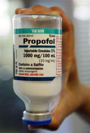 Propofol use in execution stirs concern