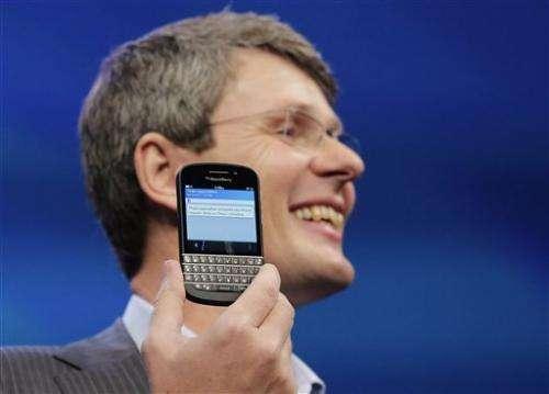 RIM changes name to BlackBerry, unveils 2 phones