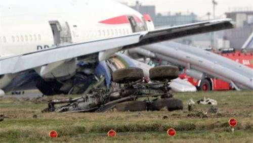 Safety advances boost plane crash survival odds