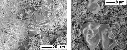 Salt causes chalk cliffs to collapse