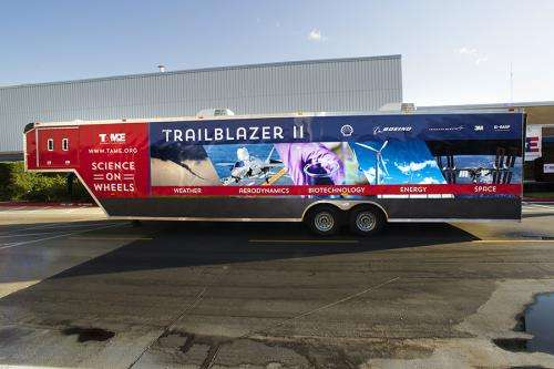 Science lab-on-wheels will 'trailblaze' a path to inspire
