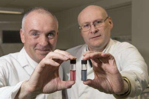 Scientist develop gilded flu test