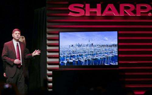 Sharp gets tactile with ultra-HD 32-inch monitor