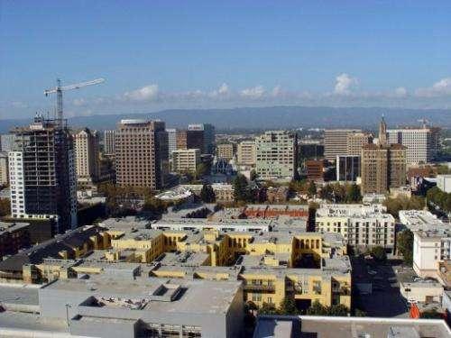 Silicon Valley's capital city San Jose in California