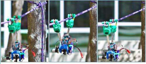 SkySweeper robot makes inspecting power lines easy and inexpensive