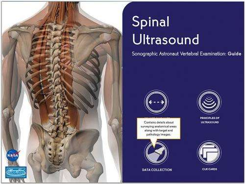 Station spinal ultrasounds seeking why astronauts grow taller in space