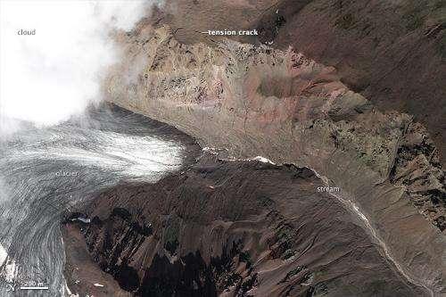 Summer heat wave may have triggered landslide on lonely Alaskan glacier