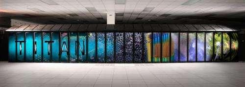 Supercomputer Titan