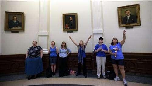 Texas House passes abortion bill; Senate next stop