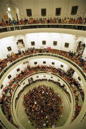 Texas Republicans pass new abortion limits