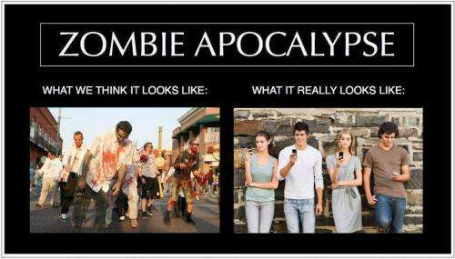 The iPod zombies are more social than you think