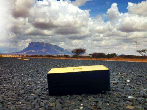 The little black box bringing the internet to Kenya