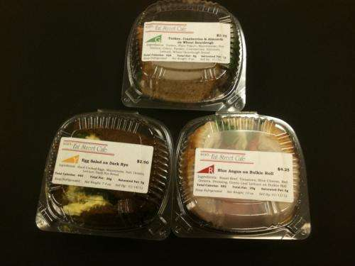 'Traffic-light' labeling increases attention to nutritional quality of food choices