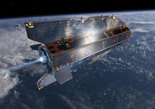 Undated artists impression of the Gravity field and steady-state Ocean Circulation Explorer (GOCE) satellite which is planned to