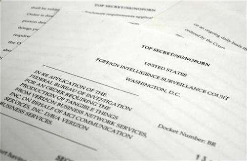 US declassifies phone program details after uproar