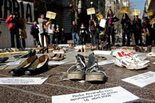 WHO:  Third of women suffer domestic violence