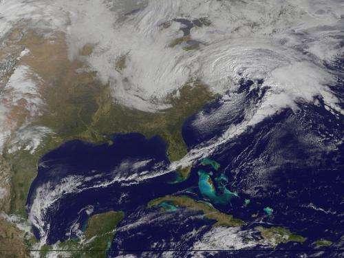 Winter storm hits the Mid-Atlantic
