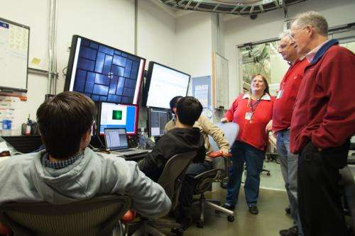 X-ray laser at SLAC maps important drug target