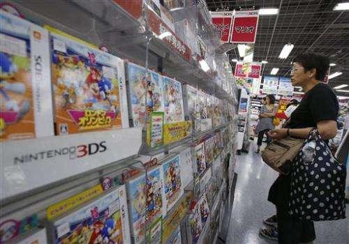Yen fall returns Nintendo to profit