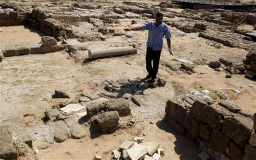 Archaeologists race to save Gaza's ancient ruins