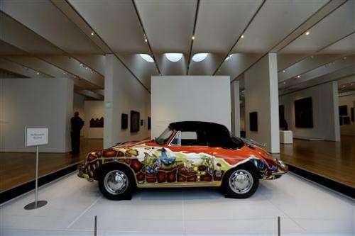 Porsche exhibit opens in North Carolina