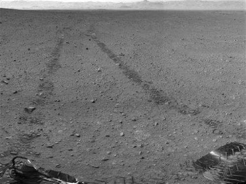 AP PHOTOS: Curiosity rover's first year on Mars