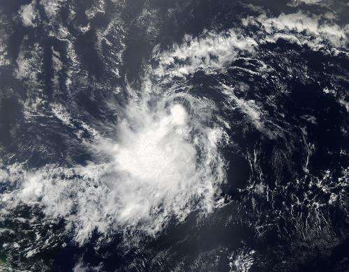 NASA sees Tropical Storm Chantal develop quickly in Atlantic