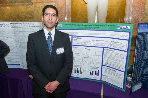 Researchers building stronger, greener concrete with biofuel byproducts