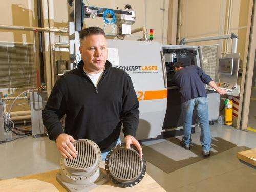 The future of exploration starts with 3-D printing