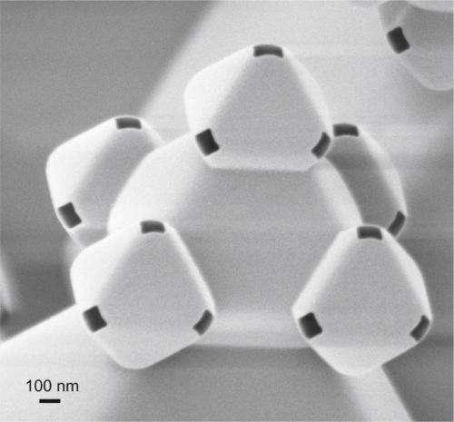Building 3D fractals on a nano scale