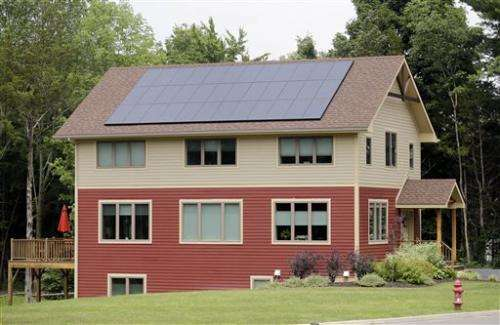 Building homes that make more power than they take