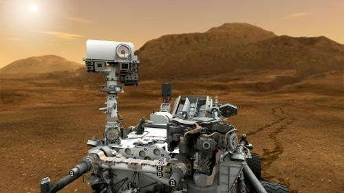 Curiosity out of safe mode