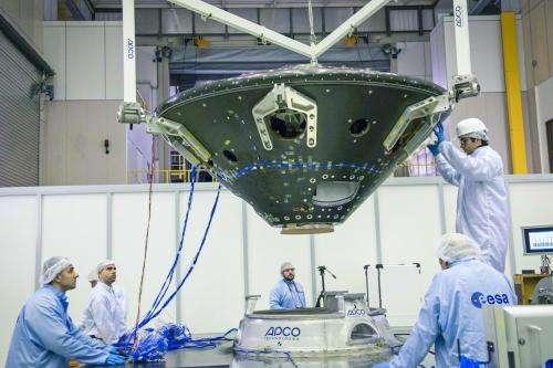 ExoMars lander module named Schiaparelli