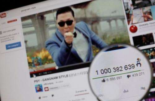 "Google said the YouTube page showcasing ""Gangnam Style"" by Psy has reaped more than $8 million in ad revenue"