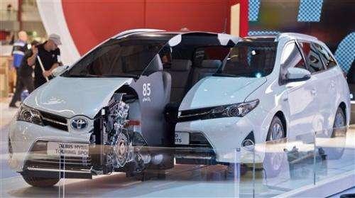 Hybrids, small SUVs, sense of relief at Frankfurt
