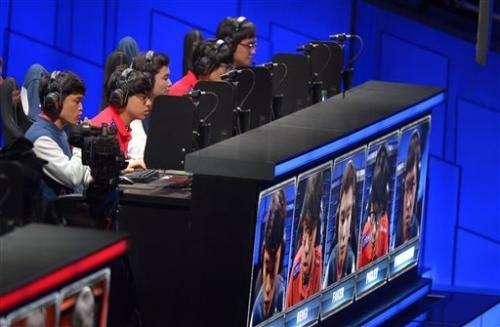 'League of Legends' champs win in legendary venue