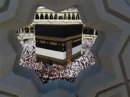 Muslim hajj crowds thinned by virus concerns