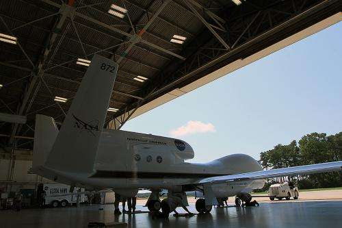 NASA's HS3 mission aircraft to double team 2013 hurricane season