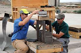 New explosives test capability helps armor research