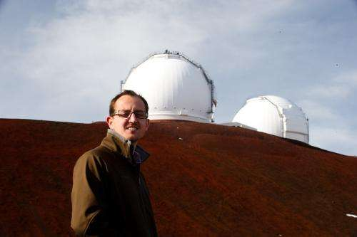 Research project to capture infrared view of distant universe