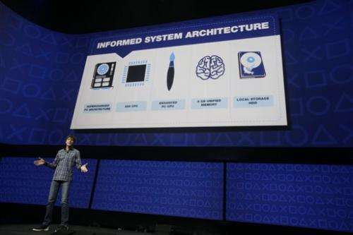 Sony shows PlayStation 4 capabilities, but no box