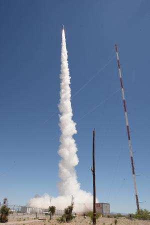 Sounding rocket to calibrate NASA's SDO instrument