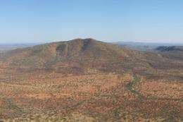 Survey reveals mineral rich fault lines